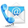 Bouton email tel